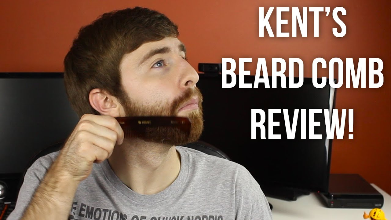 How to Use a Beard Comb! - Kent's Beard Comb Review!