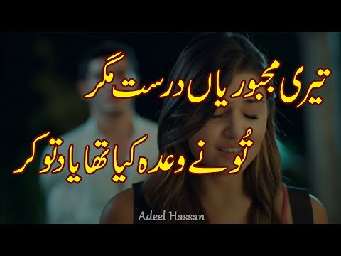 Best Urdu Poetry|2 Line Best Poetry|Hindi Shayri|Urdu Shayri|Sad Poetry|Heart Touching Shayri ||