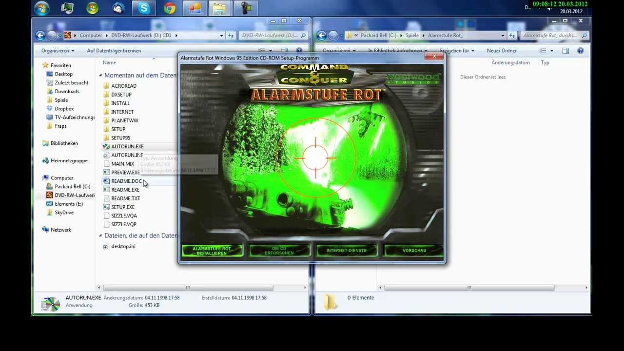 command and conquer tiberian sun windows 10 installieren