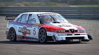 Alfa Romeo 155 DTM ex Larini ONBOARD @ Track! - PURE ONBOARD SOUND (High Quality Mic)