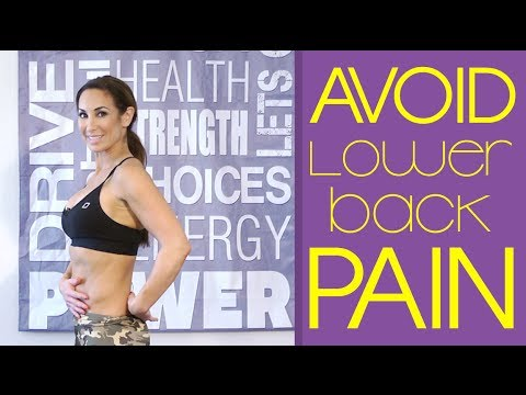Best Warmup to Avoid Lower-Back Pain | Natalie Jill
