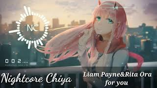 Nightcore For You - Liam Payne  Rita Ora