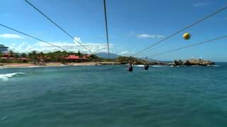 Watch me ride on the biggest zipline over water in the world!