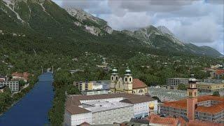 [FSX:SE] Orbx LOWI Innsbruck airport with Flugwerk Austria HD West v2