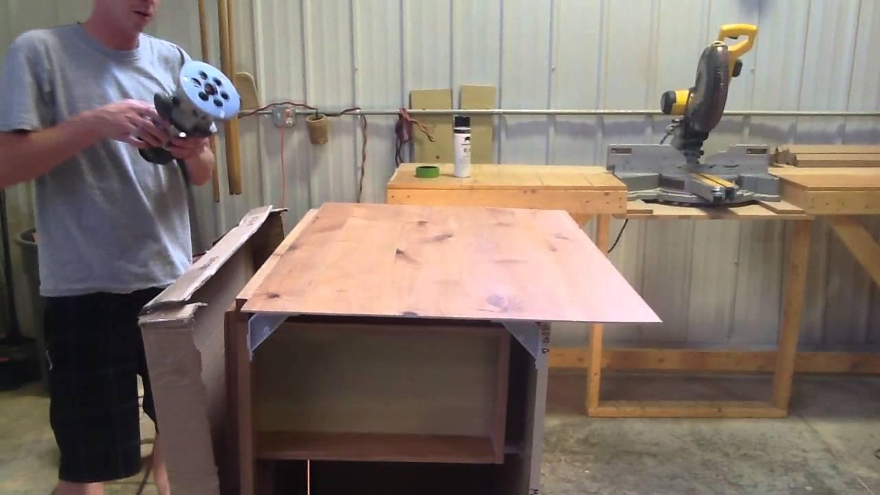 How To Skin A Cabinet   Part 2 | Knotty Alder Cabinets. KnottyAlderCabinets. Com