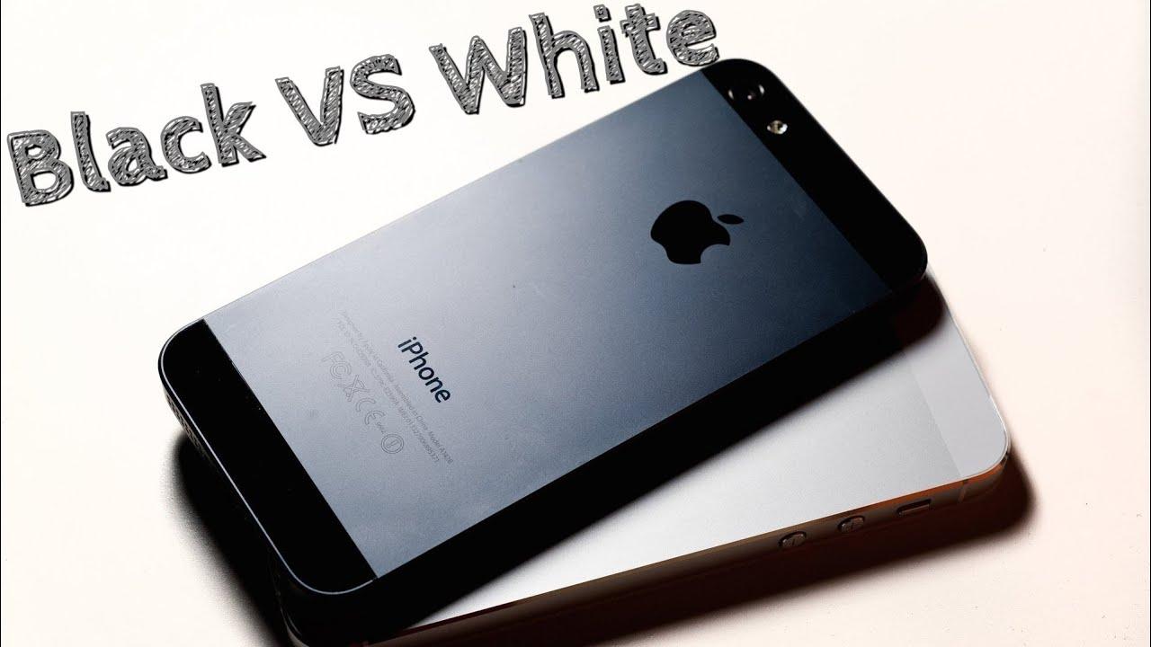 чёрный айфон 5с фото