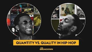 Less Is More Theory - The Gucci Mane Vs. Kendrick Lamar Approach To Dropping Albums | The Breakdown