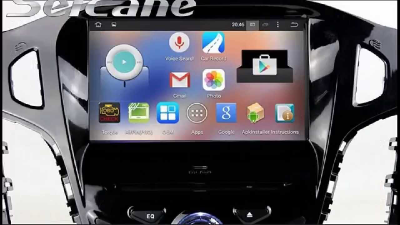 All In One 2012 Ford Focus Aftermarket Radio Navigation