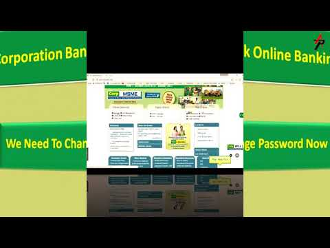 Corporation bank internet banking first time login 2018