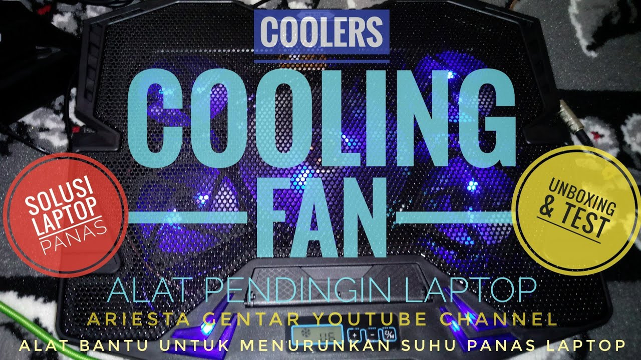 Unboxing Test Cooling Fan Laptop Youtube
