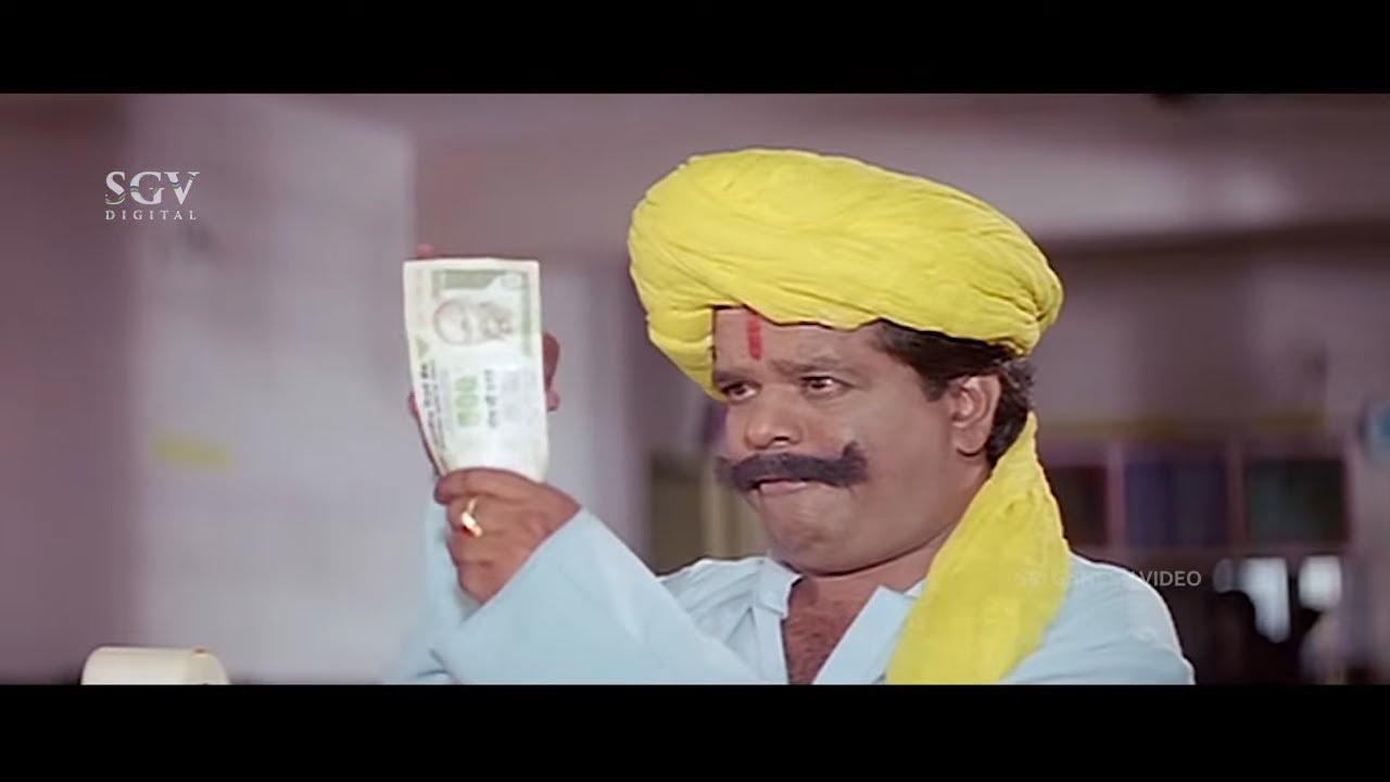 ಟೆನಿಸ್ ಕೃಷ್ಣನ ಊಟ ಮಾಡುವ ರೀತಿ ನೋಡಿ ದಂಗಾದ ಮಂಡ್ಯ ರಮೇಶ್ ಕಾಮಿಡಿ | Colors Kannada Movie Comedy Scene