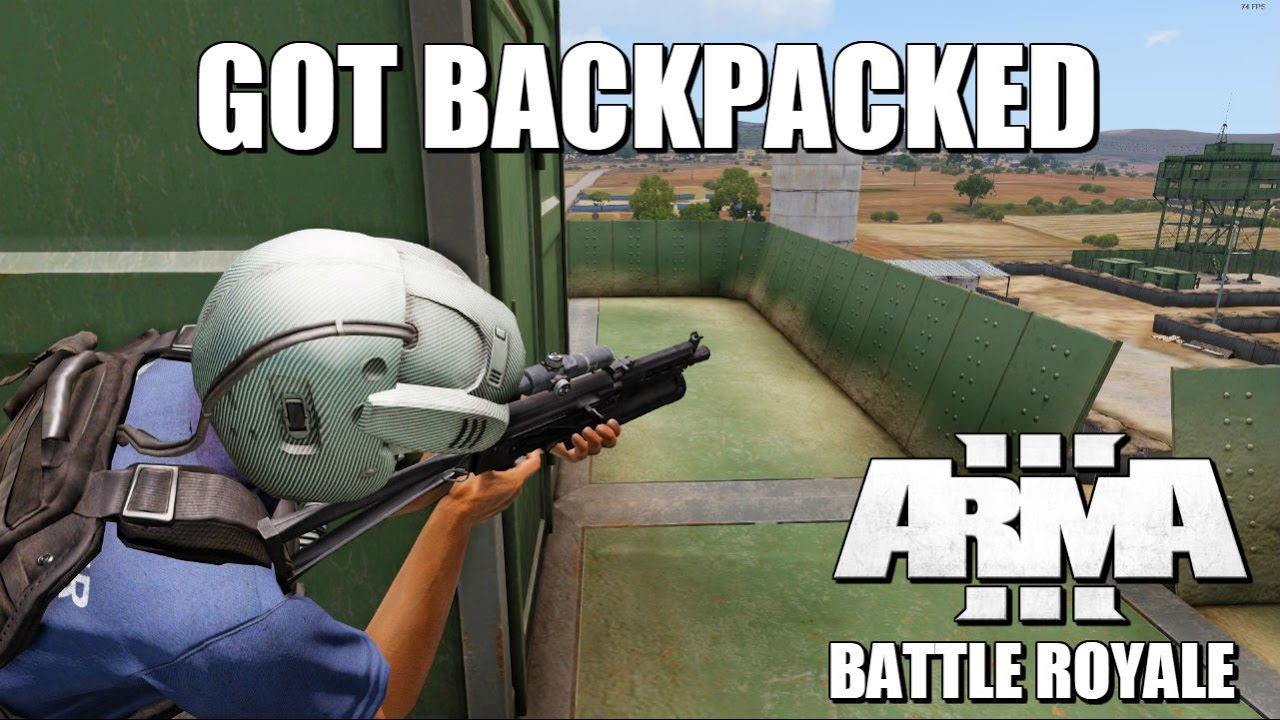 PLAYERUNKNOWN s Battle Royale mod for ARMA 3