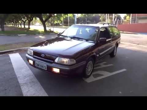 Uma volta de Ford Royale 2.0i Ghia 1994