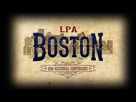 LPA National Conference - Boston 2016