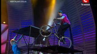 bike trial \ триал байк ( україна має талант ukraine has talent )