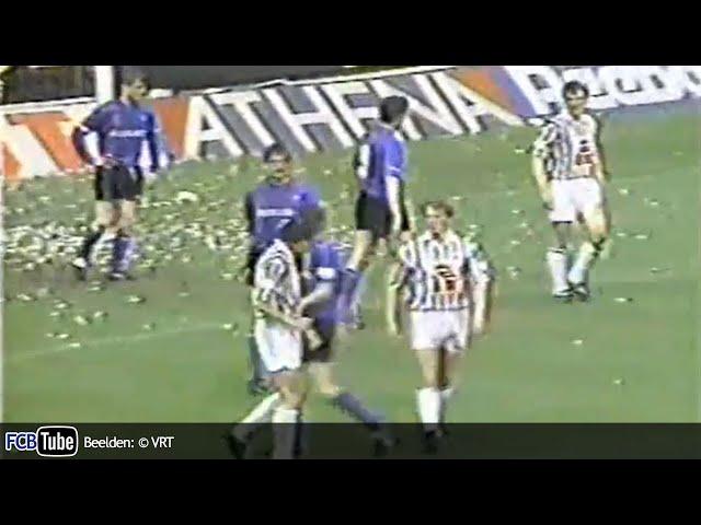 1991-1992 - Jupiler Pro League - 32. SC Charleroi - Club Brugge 1-2