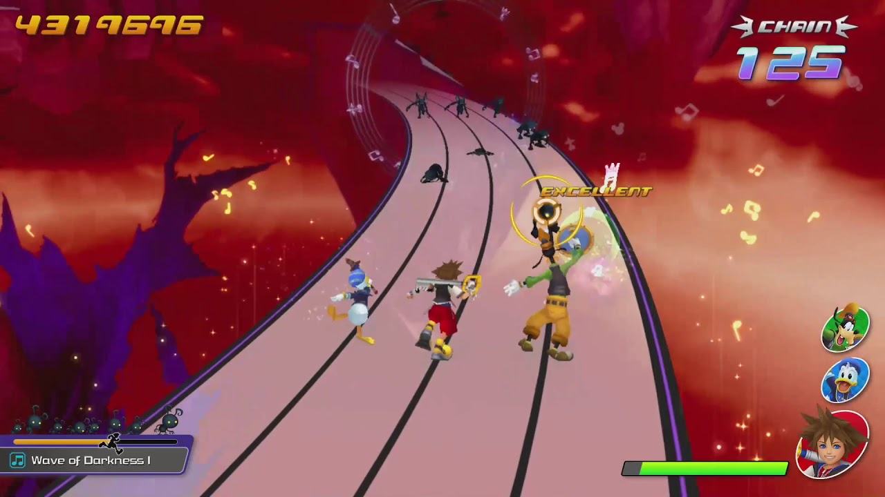 Kingdom Hearts Melody of Memory Demo – Wave of Darkness I