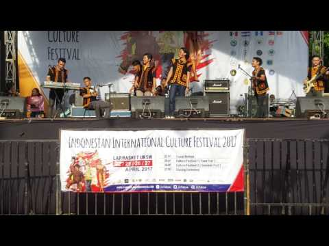 IKAONI Salatiga dalam perayaan Indonesia International Culture Festival 2017 UKSW Salatiga
