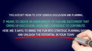 Bring the fun into strategic planning sessions   Corporate Challenge Events