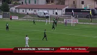 Serie D Girone D V A Sansepolcro-Tuttocuoio 1-2
