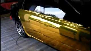 Vaz Granta золотая зеркальная пленка ХРОМ  gold chrome(Vaz Granta золотая зеркальная пленка ХРОМ gold chrome., 2013-04-01T18:59:41.000Z)