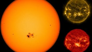 Monster Sunspot Turns Toward Earth - Largest  In More Than 20 Years