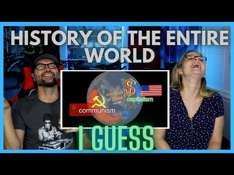 Teacher Reaction to History of the Entire World, I Guess - Bill Wurtz