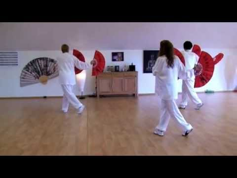 Double Fan Form, Tai Chi Plus    Germany