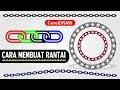 Cara Membuat Rantai dengan Coreldraw - Tutorial CorelDraw