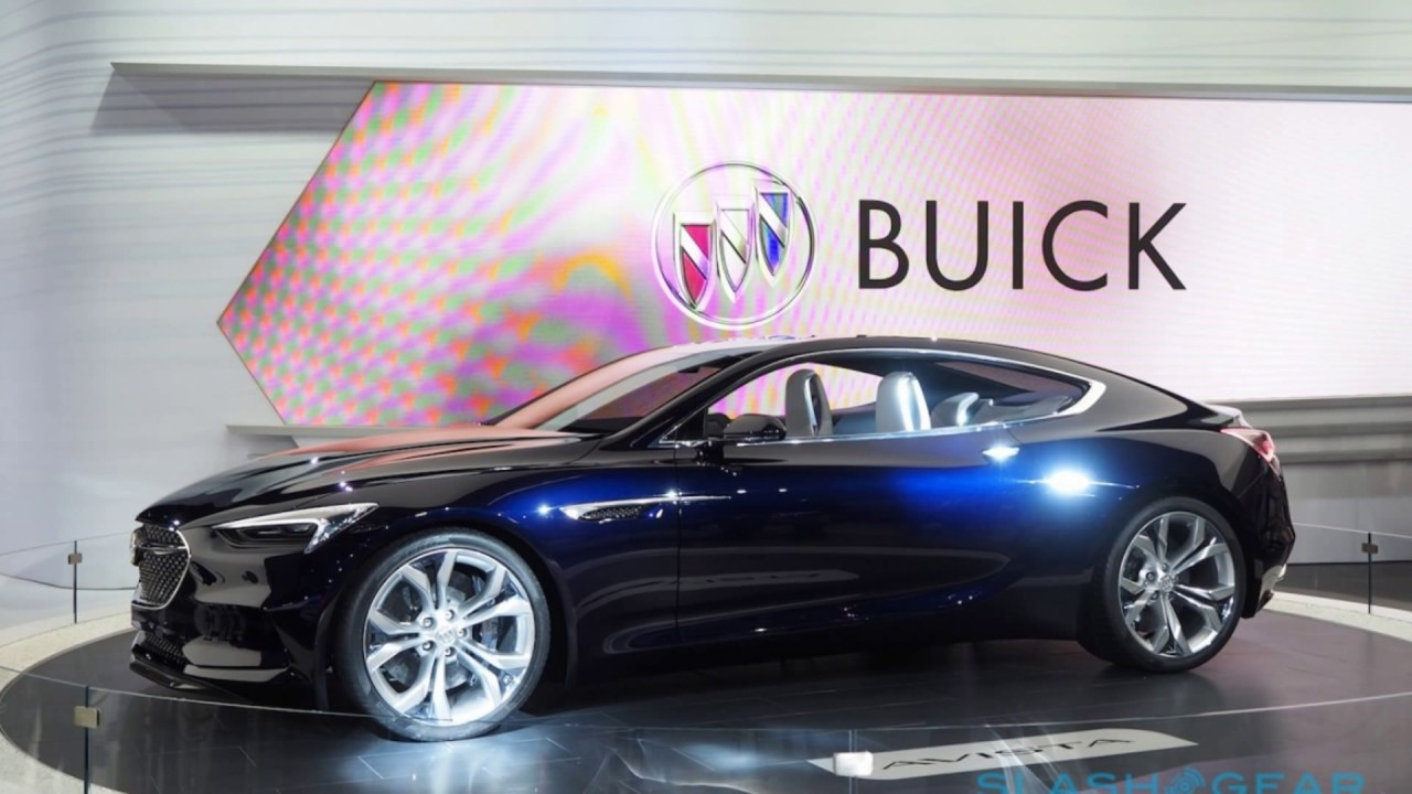 the 2019 buick new regal concept - youtube