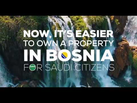 Saudi Citizens! - Now it's easier to own a property in Bosnia and Herzegovina