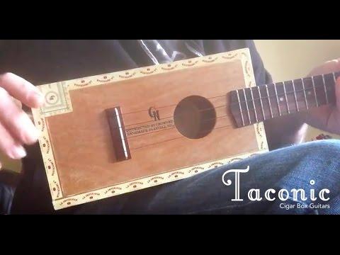 Bertha (Grateful Dead) - Taconic Cigar Box Guitar #45 (Soprano Uke ...