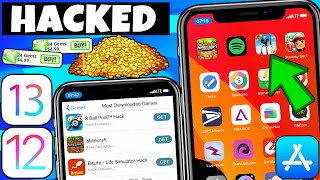 New How To Hack Games Ios 12 / 13 No Jailbreak No Pc Iphone   Install Hacked Games Ios 12/13/11