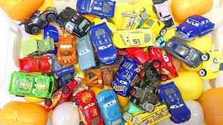 Тачки 3 Игрушки Распаковка Яиц Мини Гонщики Дисней Мультики Машинки Видео для Детей