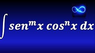 133. Integrales Trigonométricas: senos y cosenos, casos.