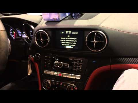 Unlock your 2013 Mercedes SL63 (R231) Navigation Screen @ Lockdown Security
