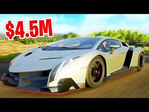 $4.500.000 LAMBORGHINI VENENO GEKOCHT! - Forza Horizon 4 thumbnail