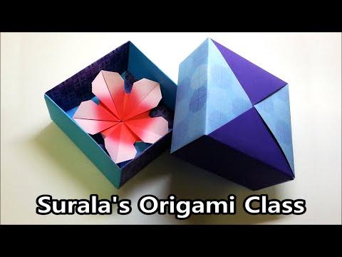 origami 4d box