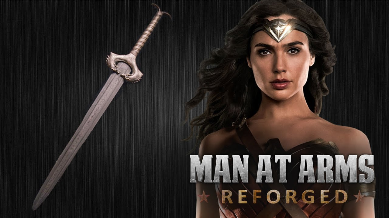 Man at Arms: Reforged Creates Wonder Woman's Indestructible Sword
