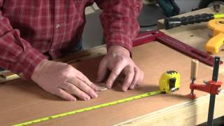 Using A Circle Cutting Jig