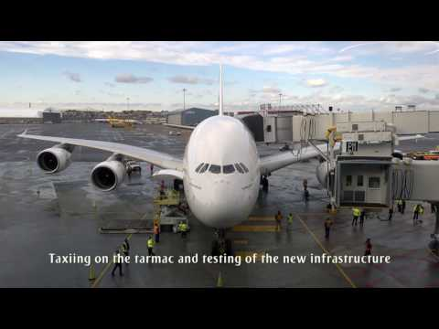 Emirates lands one-off A380 at Boston Logan International Airport