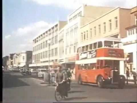 Shopping in Southampton before Pedestrianisation - 1964