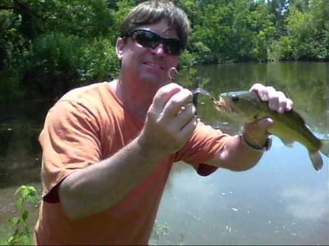 bass fishing with my home made lure - youtube, Hard Baits