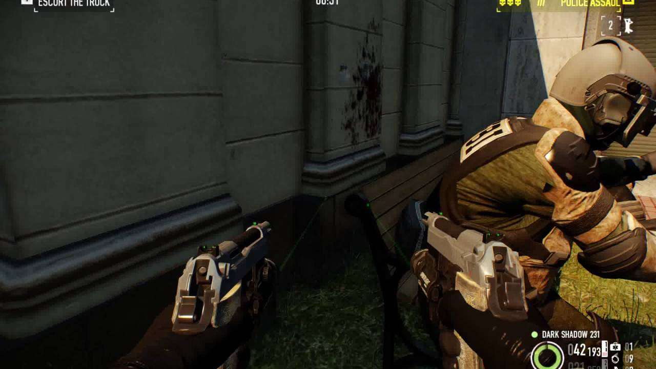Payday 2 Trying Out New Akimbo Build Hoxton Breakout Solo