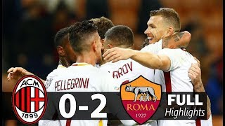 Video Hasil AC Milan VS AS Roma 0-2 (2/10/2017) Liga Italia download MP3, 3GP, MP4, WEBM, AVI, FLV Januari 2018
