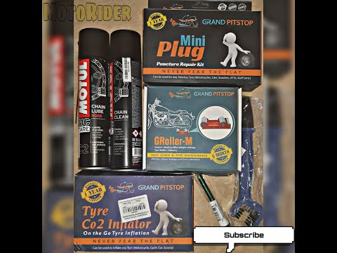 Basic Tool Kit for Bike Maintenance | Puncture | Inflator | Chain Cleaner | Price