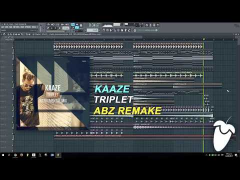 Kaaze - Triplet (Original Mix) (FL Studio Remake + FLP)