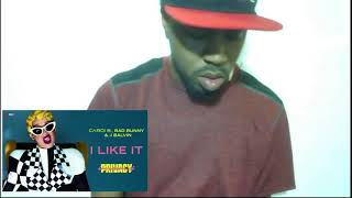 Cardi B, Bad Bunny & J Balvin - I Like It [Official Audio] reaction and review