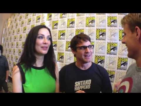 2013 SDCC  Eddic McClintock and Joanne Kelly Warehouse 13 are hilarious! w Cody Deal
