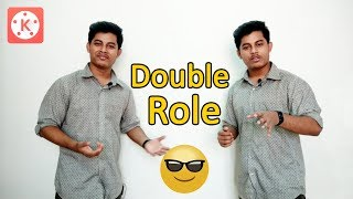How to Make Double Role Video in Android Mobile With KineMaster